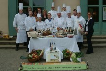 Gruppenfoto Köche aus dem Kreis Steinfurt